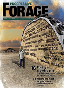 Progressive Forage cover
