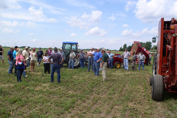 Participants of the 2010 Illinois Forage Expo