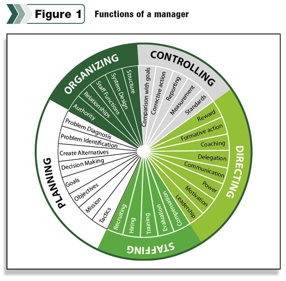 delegation and functions of management