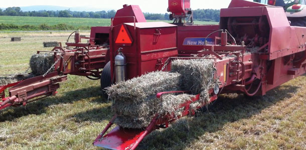 The Mt  Pony Special – Double-barrel baler - Progressive Forage