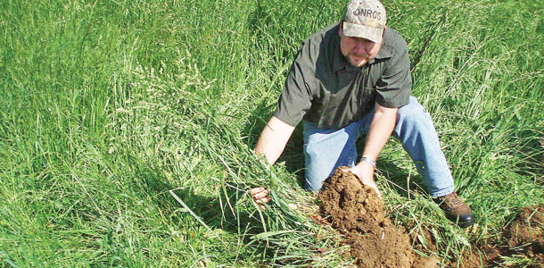 soil structure is developed and maintained through grazing