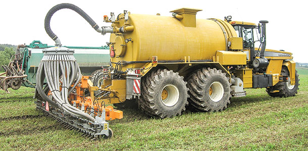 shallow injection application of manure