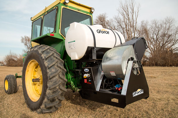 GForce mist sprayer and blower