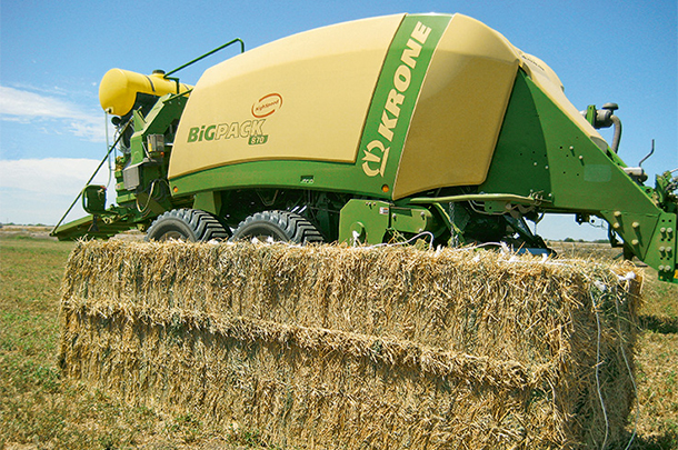 Krone's Big Pack 870 MultiBaler
