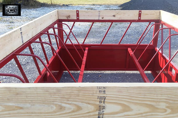 Central Welding Company bale feeder