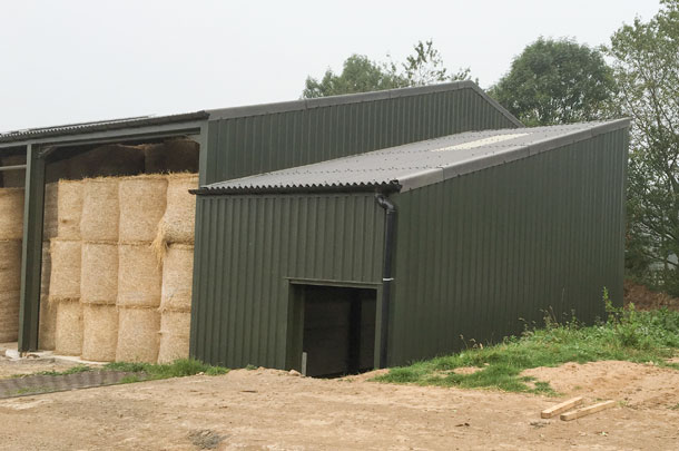 Cembrit corrugated roofing sheets