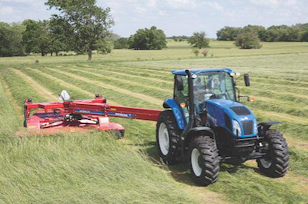 New Holland disc mower-conditioner