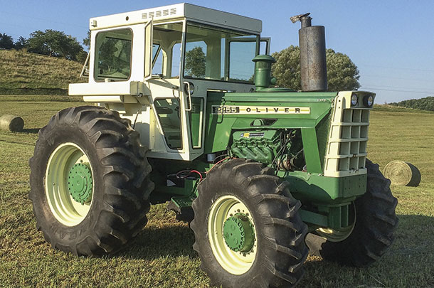 Old Iron Oliver Muscle Tractors Of The 70s Progressive Forage