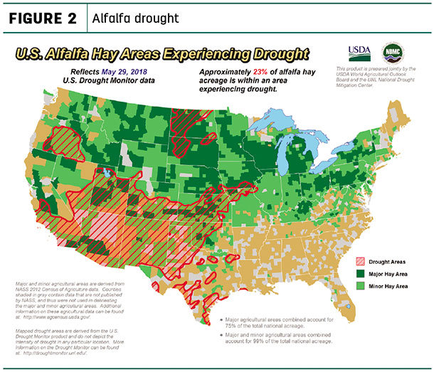 Alfalfa drought monitor May 29