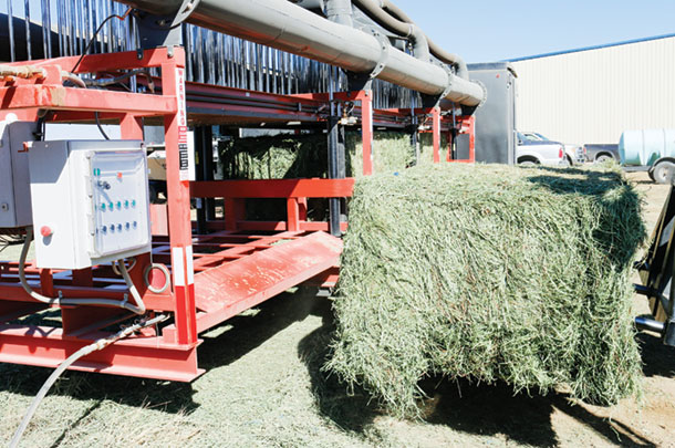 The Maximizer, a portable hay drying unit