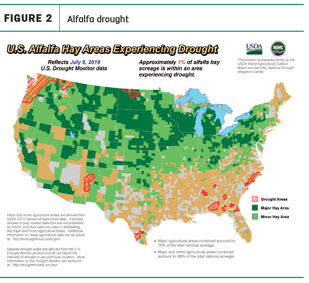 drought areas