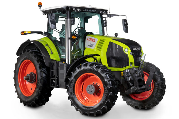 CLAAS tractor